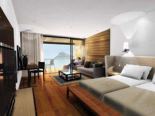 Sea View Room at the Chapmans Peak Hotel, newly refurbished 2009 | © Cape Town Hotels .co.za